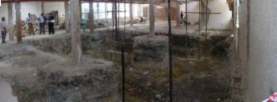 realizzazione della piscina delle Terme di Agnano