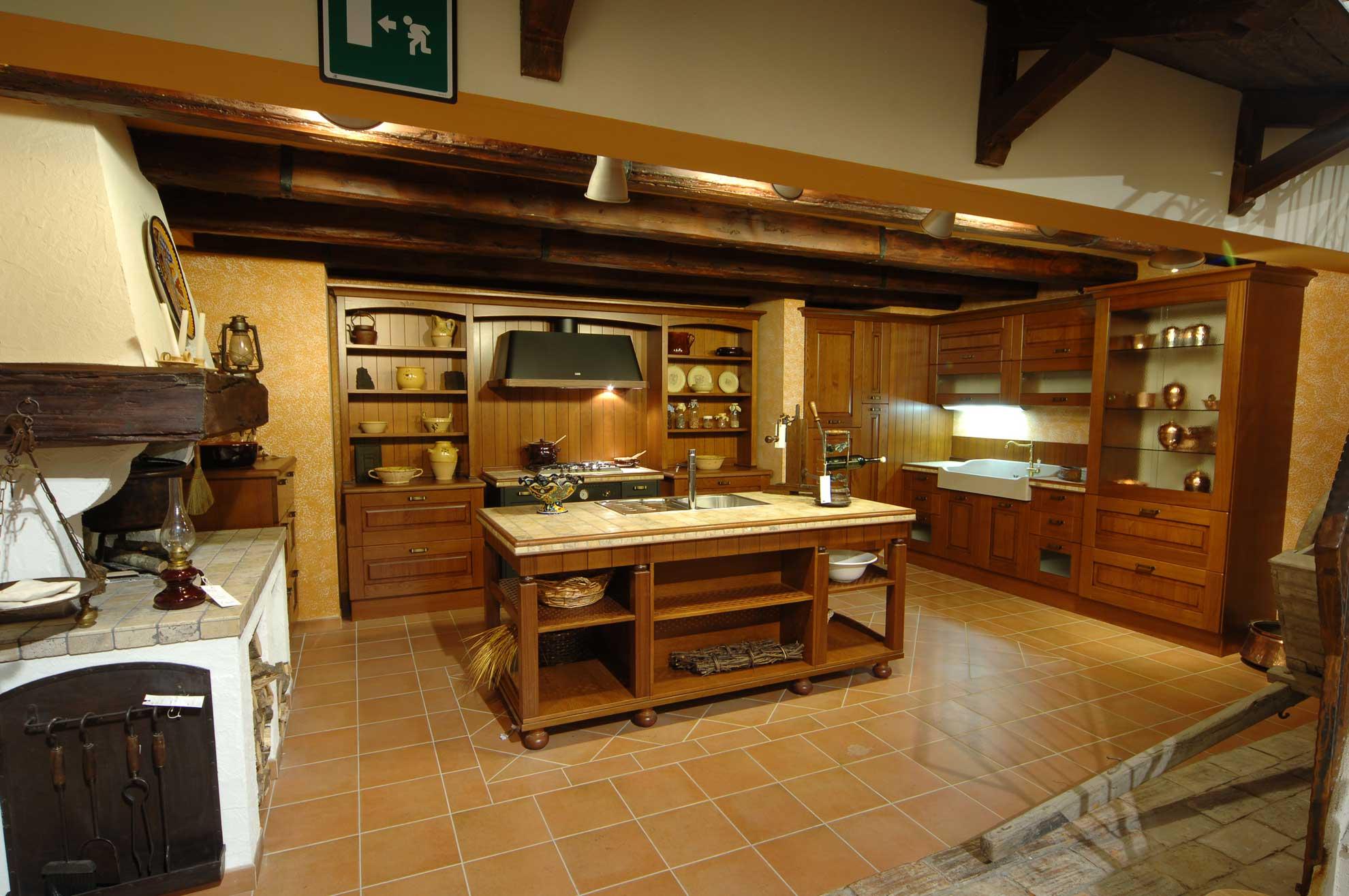 Vecchio Frantoio  Cucine da taverna