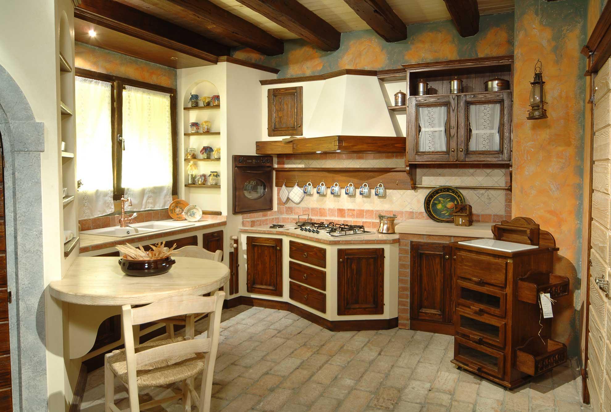 Vecchio Casale  Cucine in muratura
