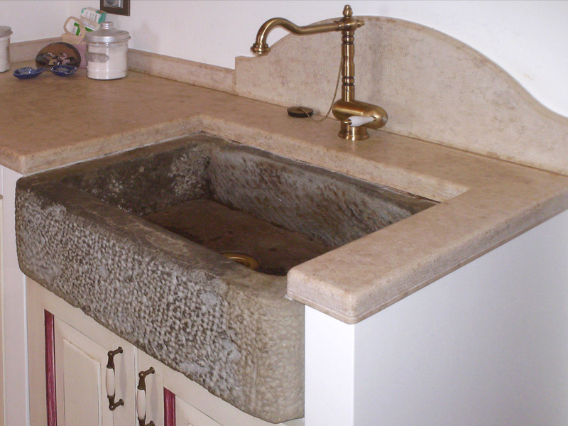 Lavello cucina pietra  Termosifoni in ghisa scheda tecnica