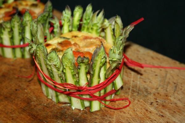 tortino di asparagi