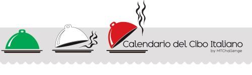 banner calendario del cibo italiano