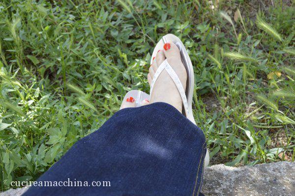 Come Cucire Lorlo Ai Jeans Cucire A Macchina