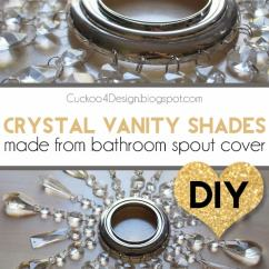 Touch Faucet Kitchen Best Way To Clean Wood Cabinets In Diy Crystal Vanity Shades - Cuckoo4design