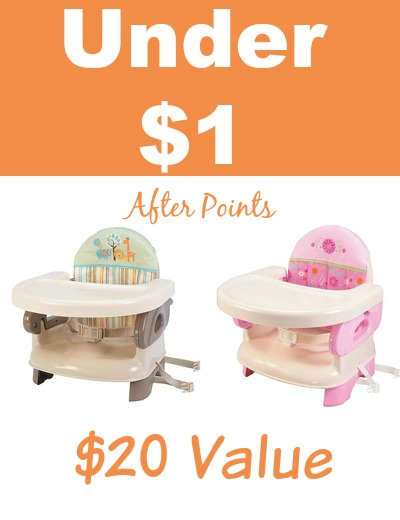 kmart baby high chairs adams adirondack chair yellow expired com almost free booster seats after points head over to get these hot deals i do not know if they are working for everyone but have worked several readers and
