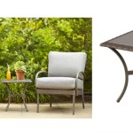 Home Depot 36 Glass Top Outdoor Patio Side Table 89 Value