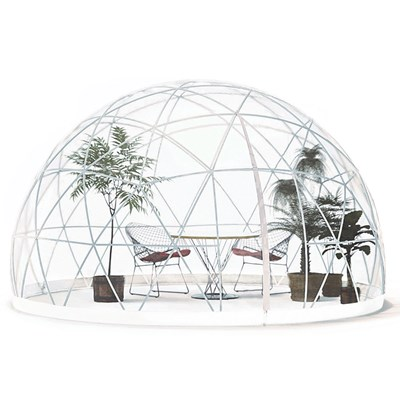 The Garden Igloo 360 Dome With Pvc Weatherproof Cover Garden Igloo Cuckooland