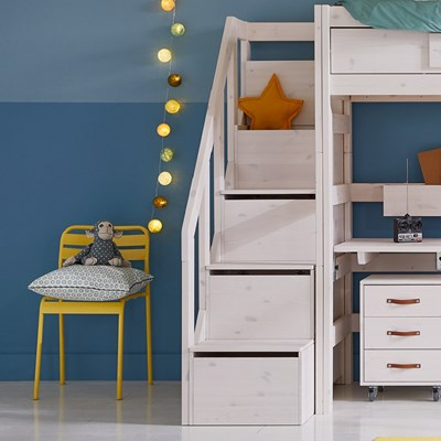 Lifetime High Sleeper Desk Bed With Steps Lifetime Kids Cuckooland