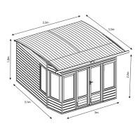 Wooden Summer House Plans Free - Escortsea