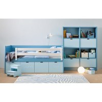 Kids Bahia Storage Bed & Step Stool