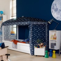 Lifetime 4 In 1 Combination Bed With Optional Blue Canopy ...