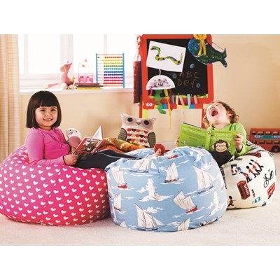 Kids Bean Bag With Removable Washable Cover  Churchfield