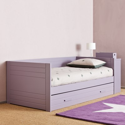 Kids Bed with Trundle and Drawers