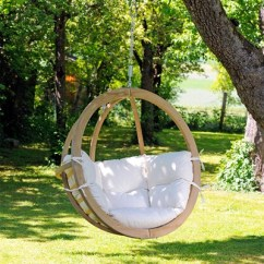 Hanging Chair Wood Elegant Covers & Event Decor Orland Park Il Garden Chairs Hammocks Cuckooland Globo In Natura Cream