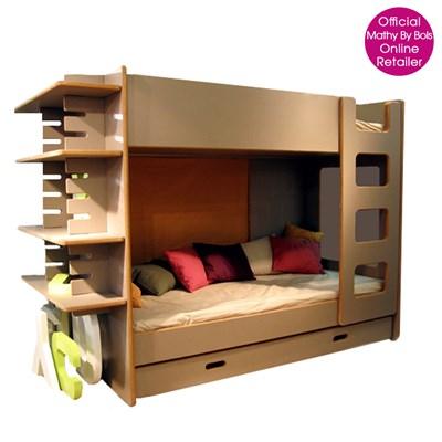 Bunk Bed With Shelf In David Design Kids Beds Cuckooland