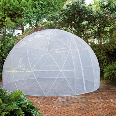 Garden Igloo 360 Dome With Pvc Weatherproof Cover