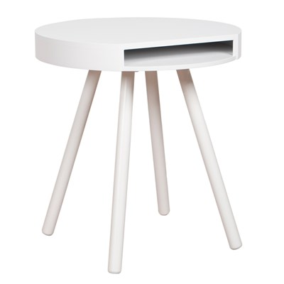 Zuiver Hide  Seek Lounge Side Table With Open Storage In