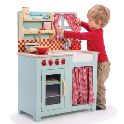 wooden play kitchen cabinet showrooms le toy van honey vintage country style