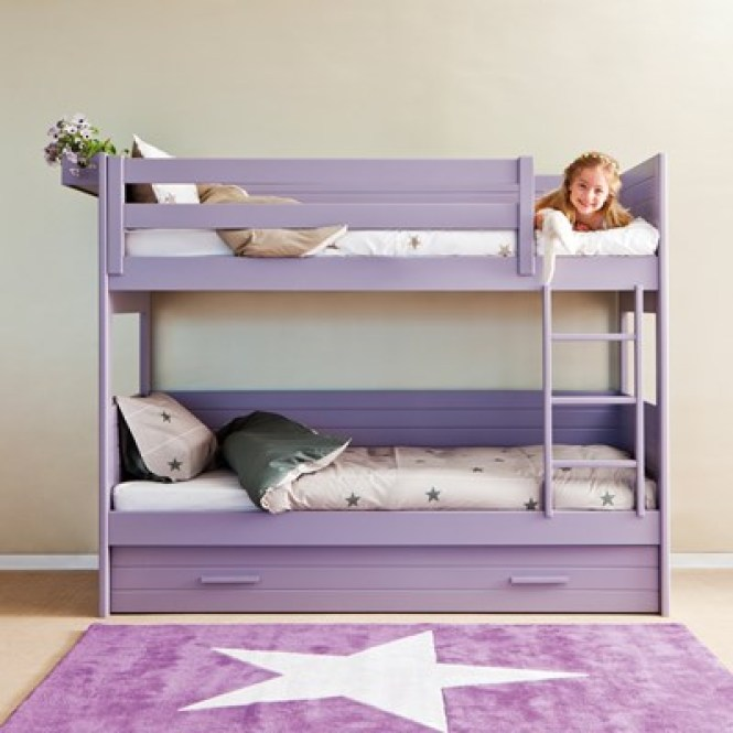 Kids Cometa Bunkbed With Trundle Jpg