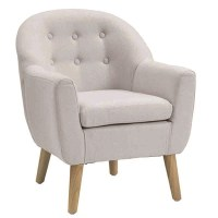 Star Kids Tub Armchair In Grey