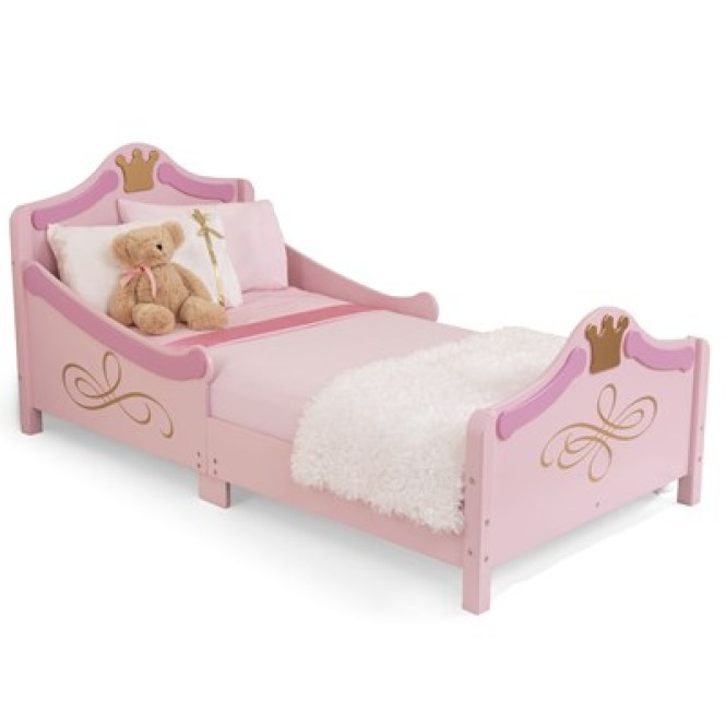 Princess Pink S Bed Cut Out Jpg