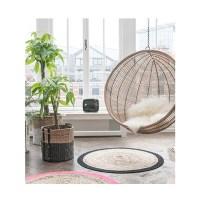 Rattan Indoor Hanging Chair In Black - Hk Living | Cuckooland