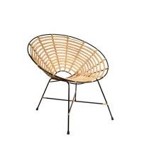 Dutchbone Kubu Rattan Round Lounge Chair - Dutchbone ...