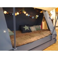 Image Of Toddler Bed Tent Flag - Bed Tents For Boys Bed ...