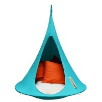Bonsai Cacoon Kids Hanging Chair In Turquoise - Hanging ...