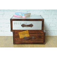 Voyager Trunk Bedside Table - Side & Coffee Tables ...