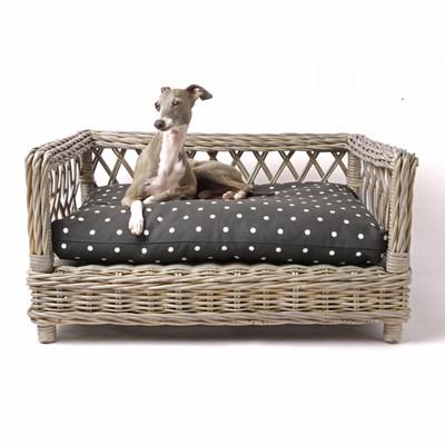 Rattan Dog Bed Raised