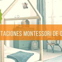 Como hacer habitaciones Montessori para tus hijos.
