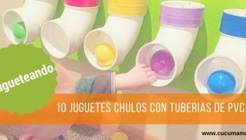 10 juguetes diy con tuberías de pvc