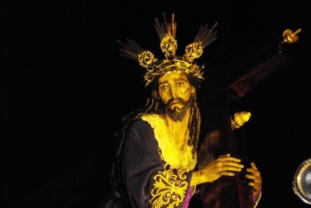 Jesus de las Tres Potencias, Parroquia Vieja zona 6