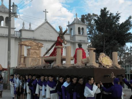 Procesión de Jesús Nazareno de Teocinte, Primero Domingo de Cuaresma 2015 (1)