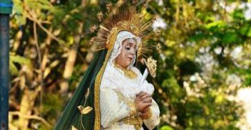 Virgen del Cerro, de la Parroquia de Candelaria. Foto Cortesía jesusenguatemala.com
