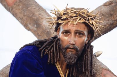 5 Mirada de Jesús del Consuelo. Foto Aldo Comparini