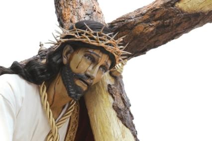 Procesión Jesús de la Caída 2015, San Bartolome Becerra, Quinto Domingo de Cuaresma