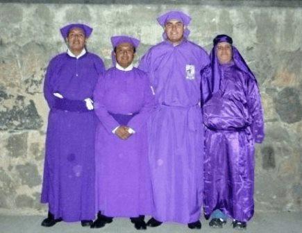 Túnica de Cucurucho en Guatemala