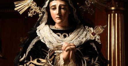 Virgen de Soledad del Calvario. Foto Jose Flores
