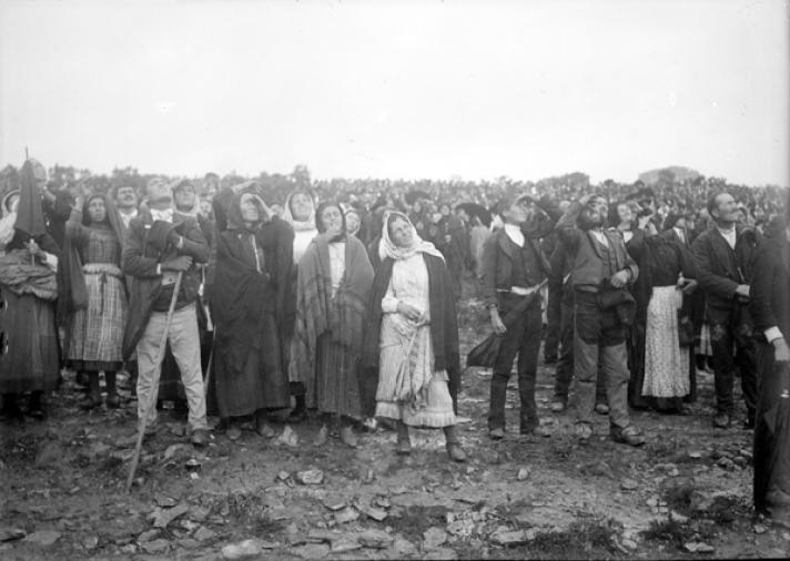 Personas que fueron testigos del movimiento inusual del sol en la Sexta Aparición de la Virgen de Fátima