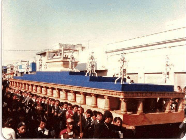 Cristo Yacente de el Calvario en 1985