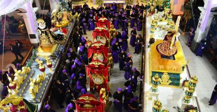 Turnos para Domingo de Ramos en San José