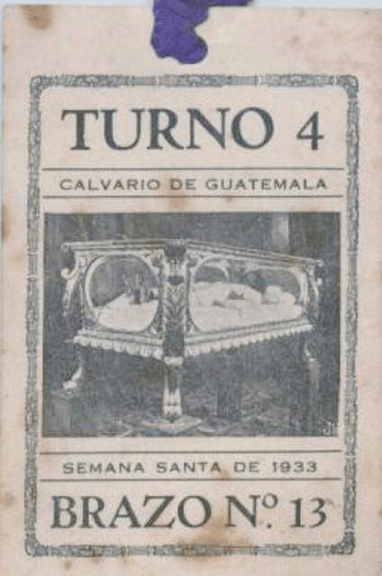 1933 no figuraba un nombre oficial en los turnos