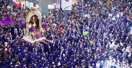 Señor de los Milagros en Peru