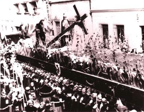 Domingo de Ramos 1963, foto Luis Alvarado