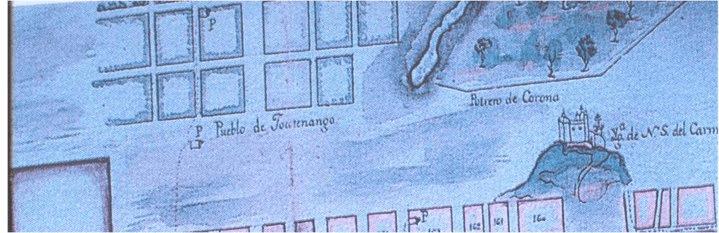 Cerrito del Carmen, potrero de Corona y Jocotenango 1782