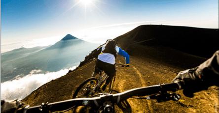 Ciclismo de montaña. foto soy502