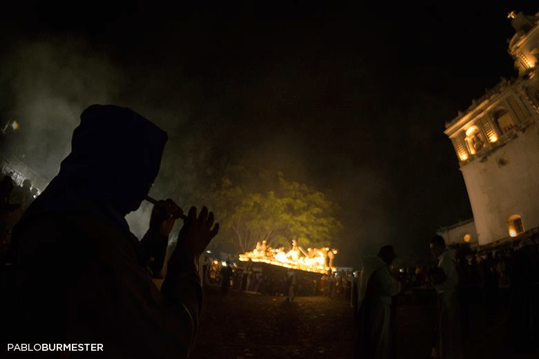 Semana Santa de Antigua Guatemala por Pablo Burmester