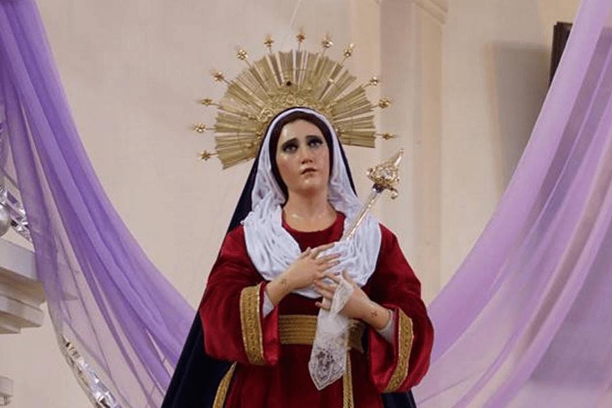 Recorrido Virgen de Dolores Santuario de San José